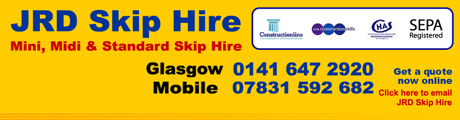 JRD Skip Hire Glasgow